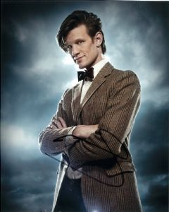 "Matt Smith, ""11th Doctor"" DOCTOR WHO Genuine Signed Autograph 11113."